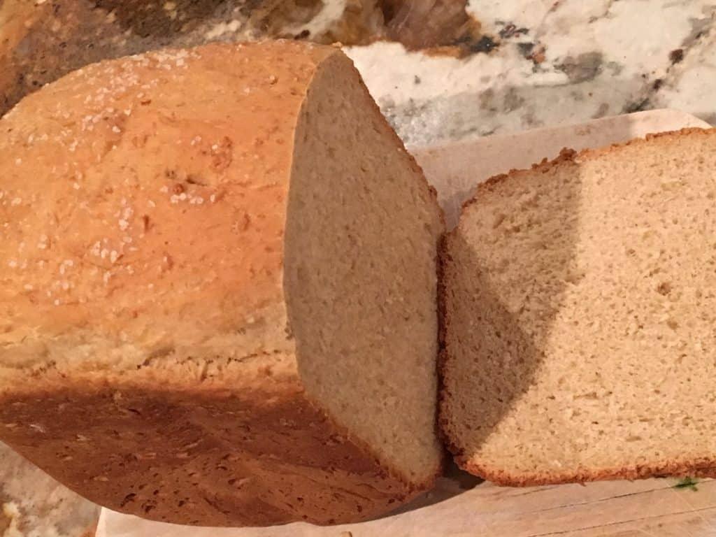 Salt Crusted Bread Machine Recipe