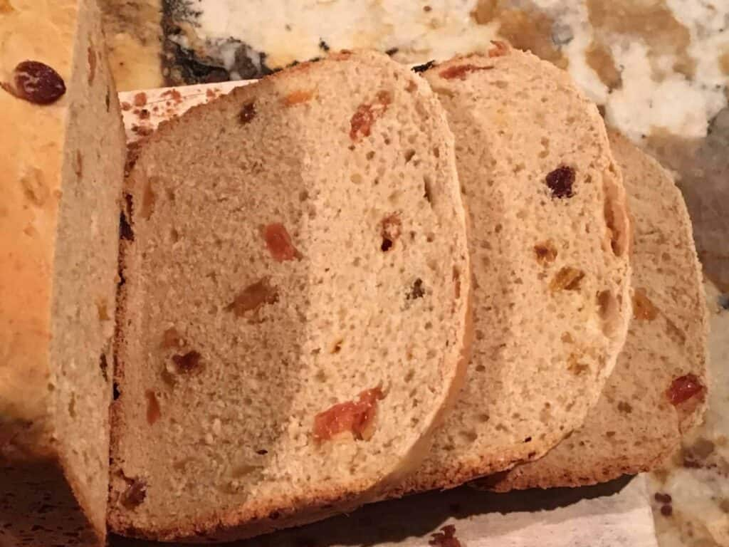 Bread Machine - Raisin Cinnamon Bread