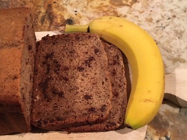 Bread Machine - Chocolate Chip Banana Bread
