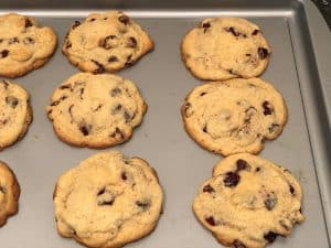 Easy Chocolate Chip Cranberry Cookies