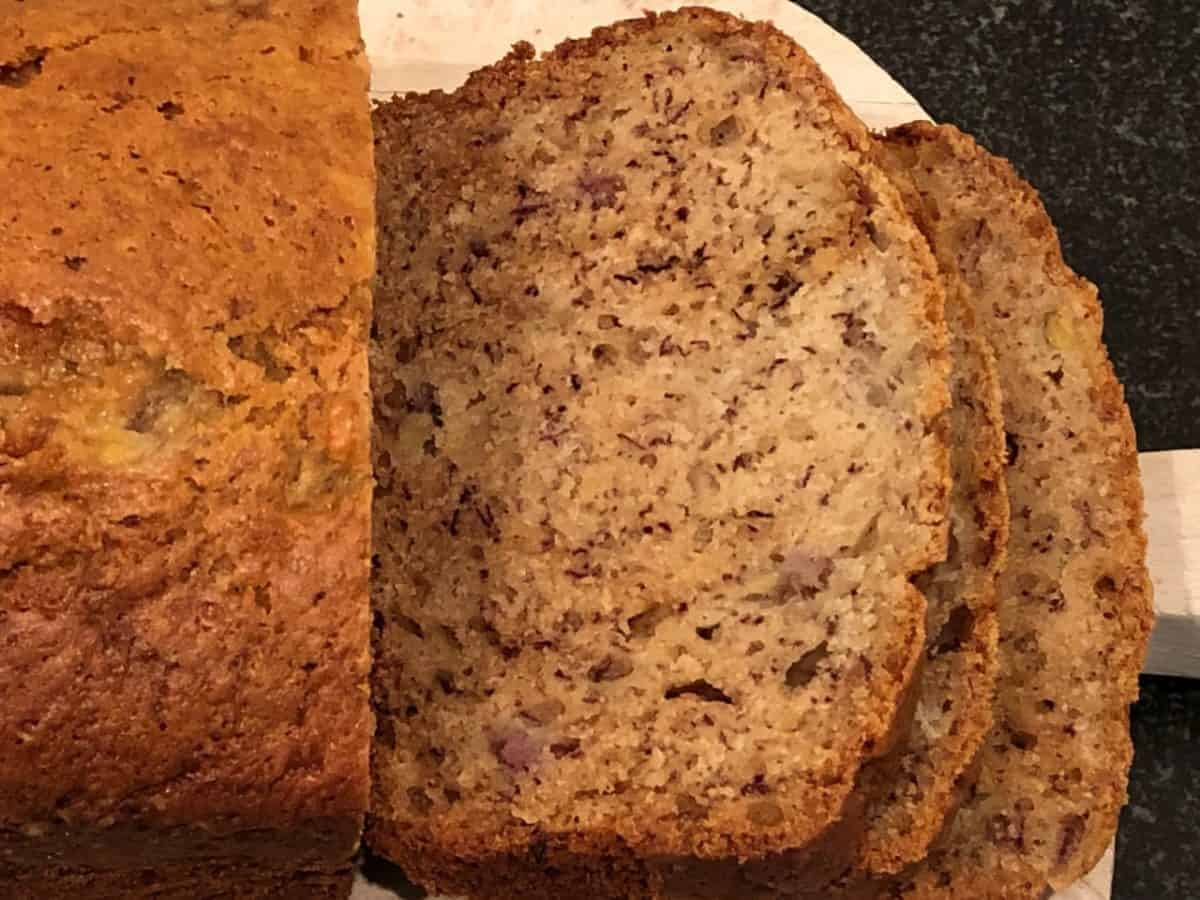 Banana Bread with Oil