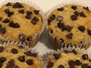 Chocolate Chip Banana Bread Muffins Recipe