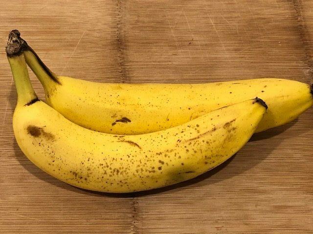 2 Bananas for a Banana Bread Recipe