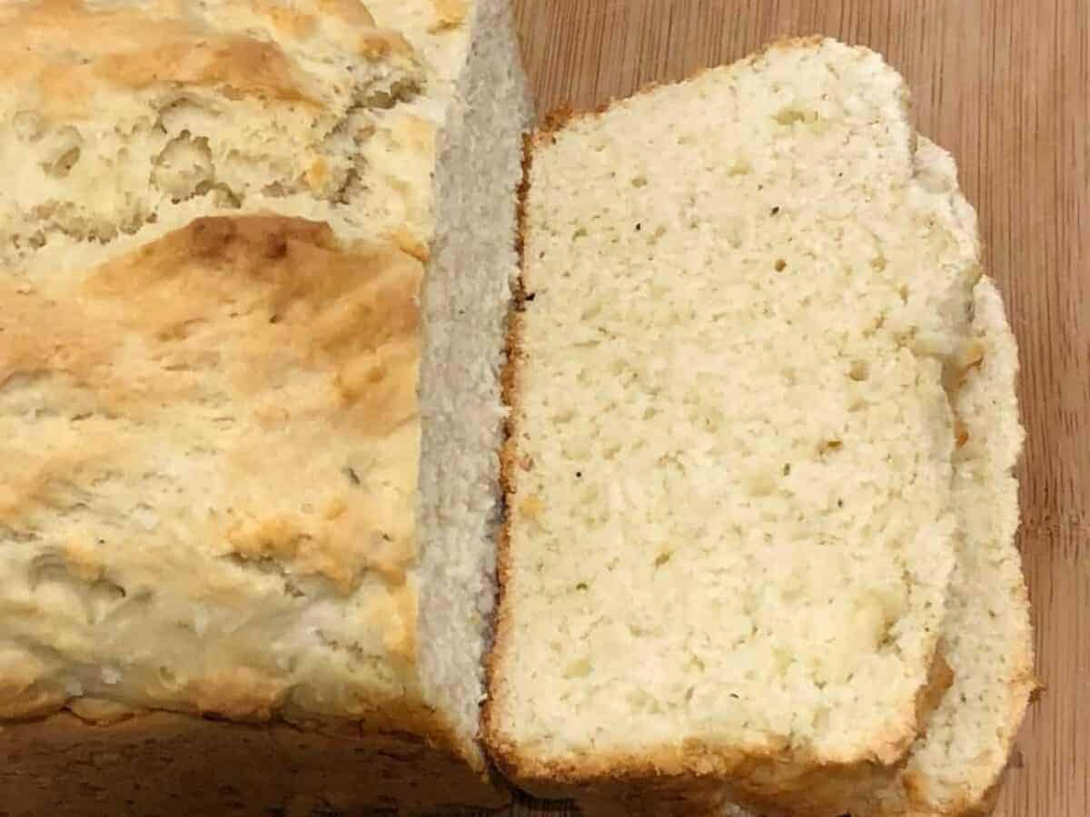 No Yeast White Bread