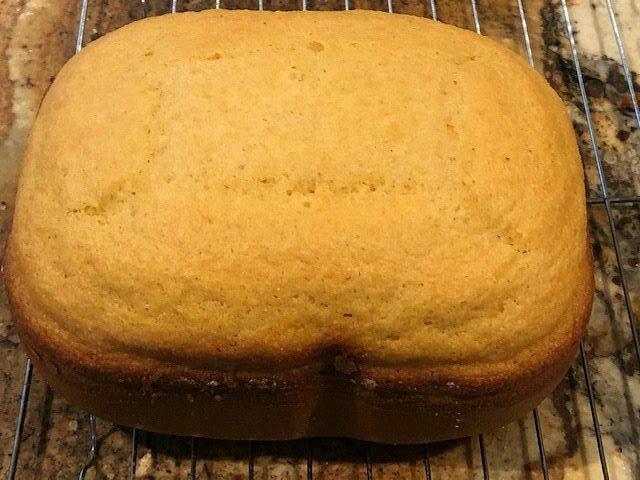 Bread Machine Cornbread
