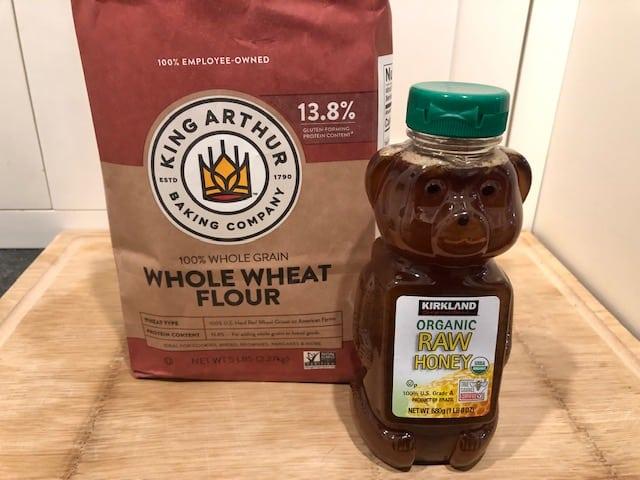 Honey & Whole Wheat Flour