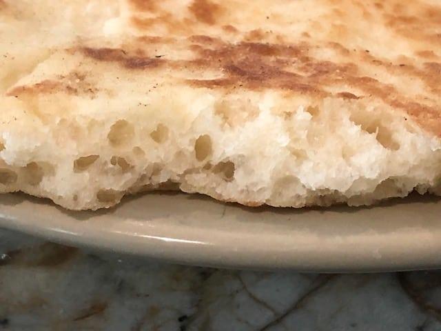 Interior of Naan Bread