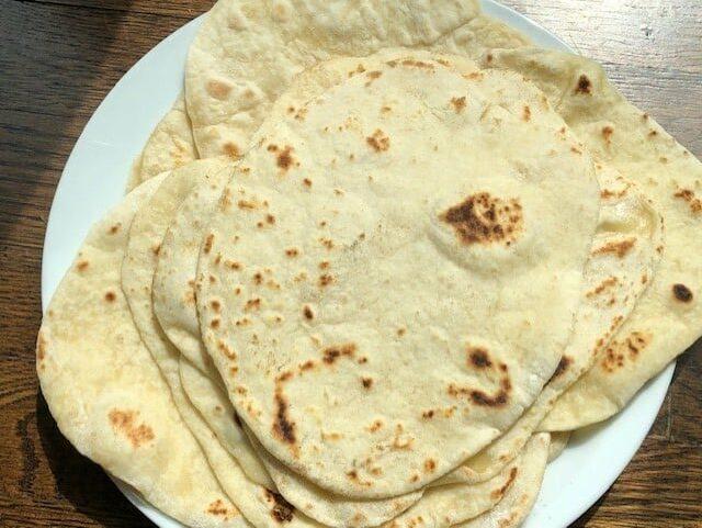Flour Tortilla Recipe with Butter