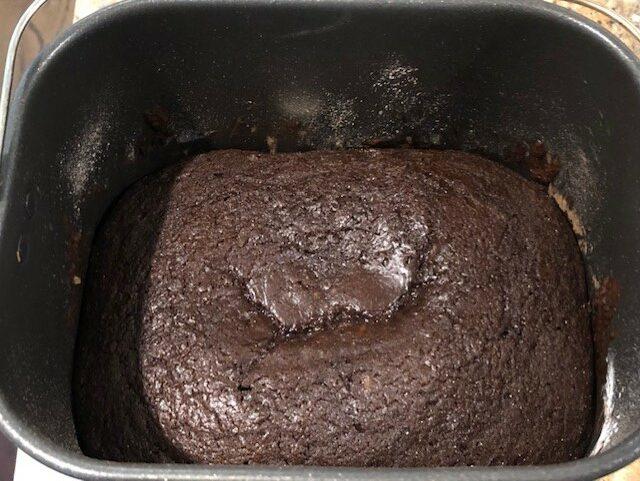 Bread Machine Cake in Bread Pan